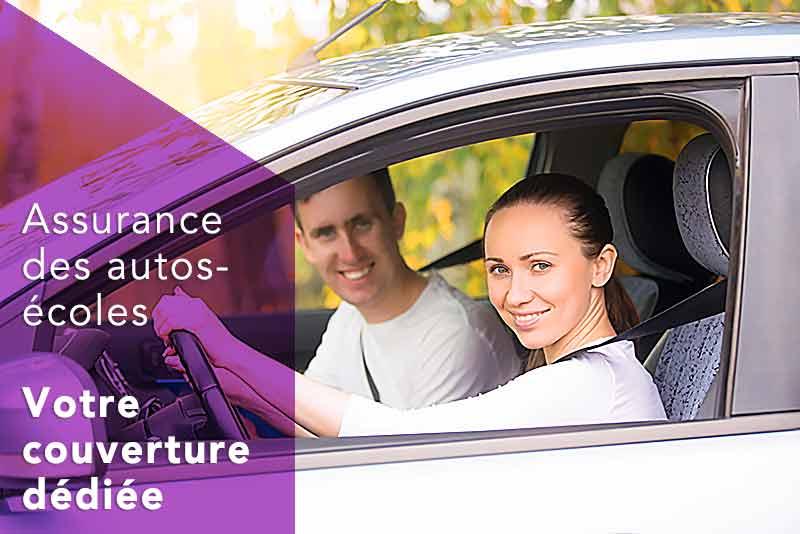 Couverture dédiée assurance des autos-écoles