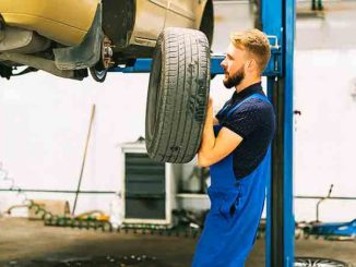 Garage de réparations auto