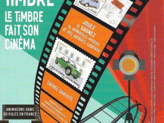 Fête du timbre : Le thème en 2021 sera voitures anciennes et cinéma