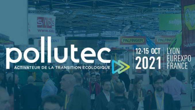 Le salon Pollutec se tiendra du 12 au 15 octobre 2021 à Lyon